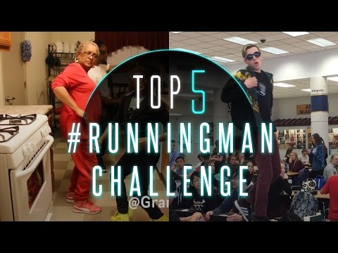 Running Man Challenge | My Boo - Ghost Town DJs | Top 5