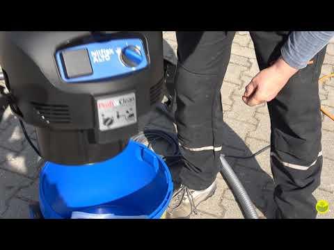 Nilfisk Staubsauger Nass- Trockensauger Attix 30-21 PC Mit Geräteabsaugung