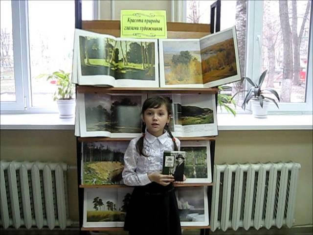 Изображение предпросмотра прочтения – ЭльзаХамидуллина читает произведение «Пороша (Еду. Тихо. Слышны звоны…)» С.А.Есенина