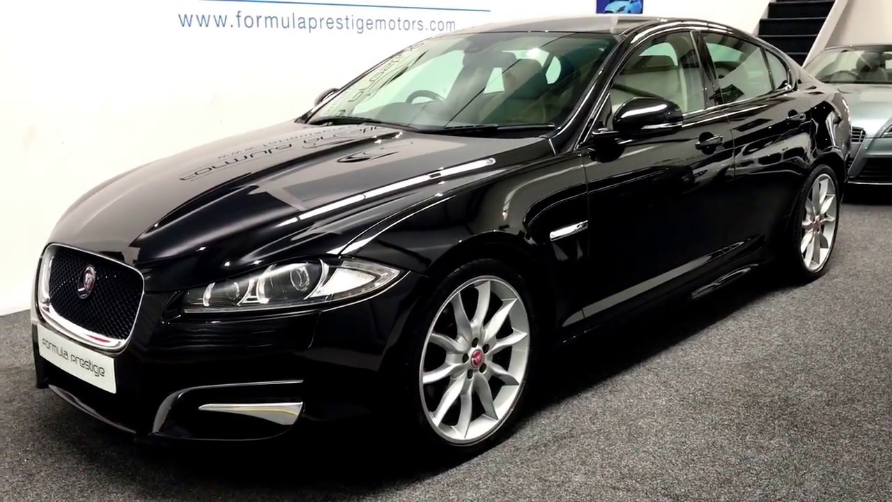 2014 Jaguar XF S 3.0 Premium Luxury In Ultimate Black