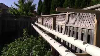 Клубника в трубах ПВХ(, 2014-06-21T23:34:54.000Z)