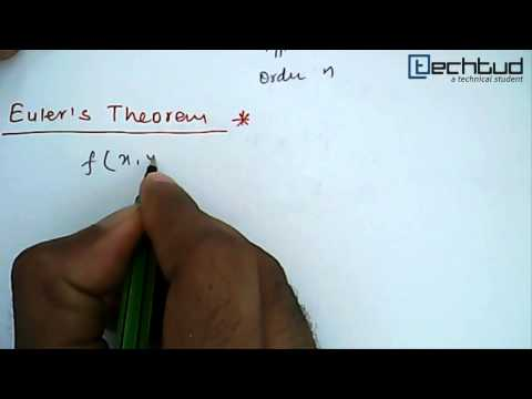 Mathematics: Homogeneous Function