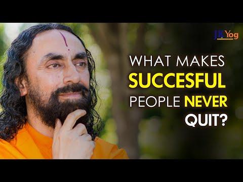 What Makes Successful People NEVER Quit? | Swami Mukundananda