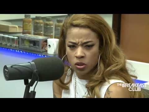 Keyshia Cole Interview at The Breakfast Club Power 105.1 (7/30/2014)