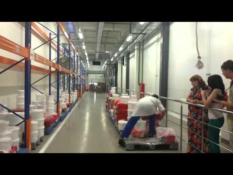 Экскурсия на фабрику в Ногинск. Команда ОНЛАЙН-ПРО. Часть 1.