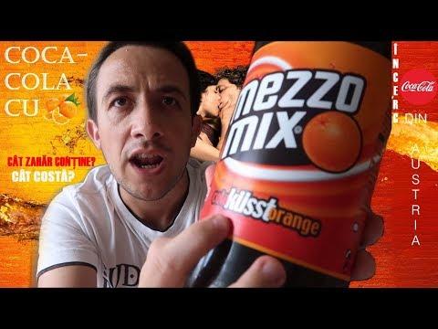 Cat zahar contine o Coca Cola cu portocale fanta mezzo mix din Austria? #160 cu Adi vlog