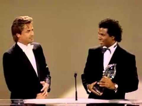 Don Johnson: Peoples Choice Award 1986 for Miami Vice!