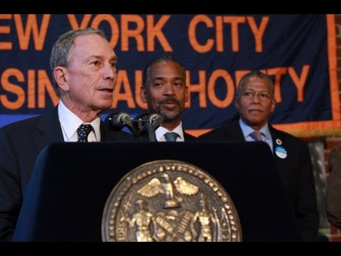 Mayor Bloomberg Announces Eliminating Backlog of Maintenance & Repair Request in Public Housing