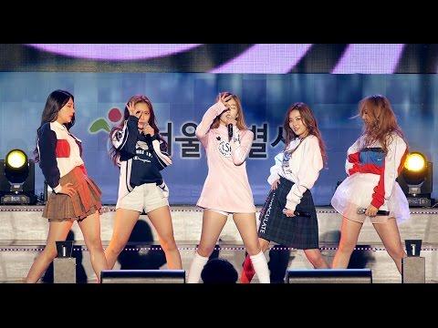 [직캠] 레드벨벳 Red Velvet - Huff n Puff (15.10.28)