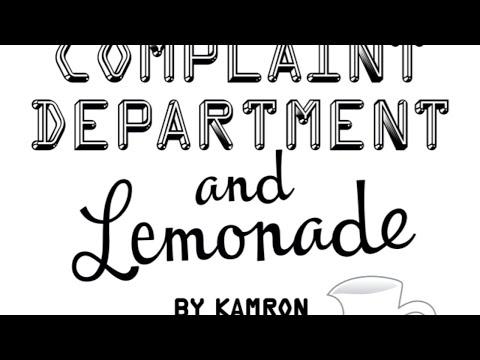 "Highview Middle School Presents ""Complaint Department and Lemonade"" By: Kamron Klitgaard"