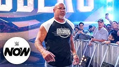 Goldberg wants a word with Bobby Lashley WWE Now August 2 2021