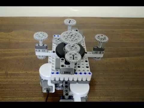 4 Output Lego Motor Multiplexer Youtube