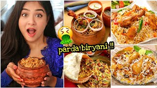 I only ate BIRYANI for 24 HOURS!! Nil & Situ Vlogs