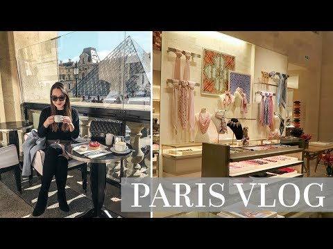 SHOPPING AT LOUIS VUITTON AND DINING IN PARIS!