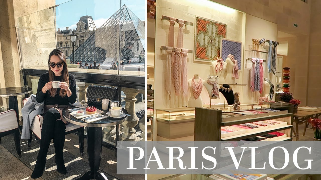 a150c4377 SHOPPING AT LOUIS VUITTON AND DINING IN PARIS! - YouTube