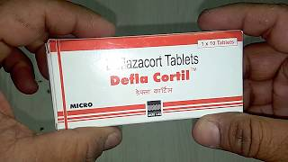 Defla Cortil Tablets review Deflazacort Tablets Uses & Benefits