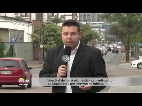 Hospital de Itajaí não realiza procedimento de laqueadura por motivos religiosos