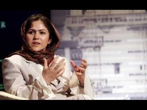 Fawzia Koofi on Radio Netherland