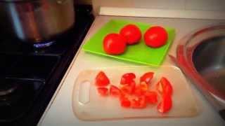 Овощное рагу.Вегетарианство. Тушеные овощи.