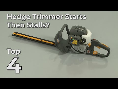 "Thumbnail for video ""Hedge Trimmer Starts Then Stalls? Hedge Trimmer Troubleshooting"""