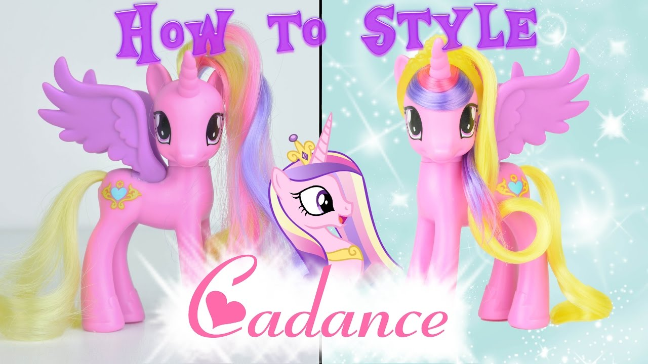 mlp princess cadance hair styling tutorial how to style my little pony hairstyle | mlp fever