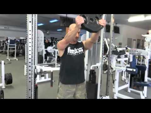 aesthetic muscle 5 day body part split routine shoulder