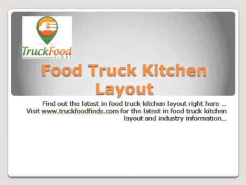 Food Truck Kitchen Layout Youtube