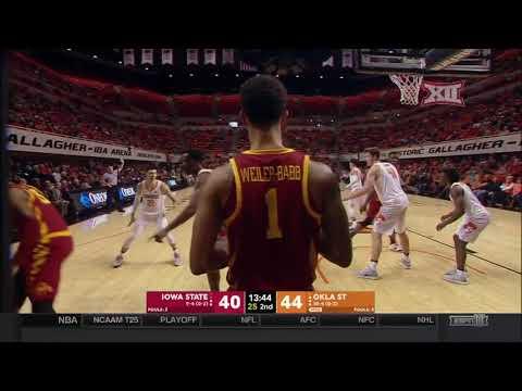 Iowa State vs Oklahoma State Men