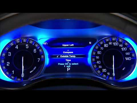 2015 Chrysler 200 Driver Information Display (DID)