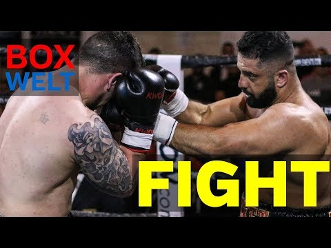 Kambis Rahmani vs Mirko Crnovic - 6 rounds cruiserweight - 28.04.2018 - Stadthalle Cloppenburg