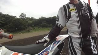 KTM2012最新モデル(モトクロス現役フリーライター青木氏インタビュー)
