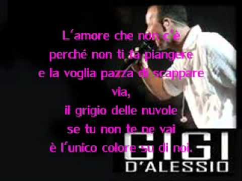 Gigi D'Alessio - L'amore che non c'è + testo