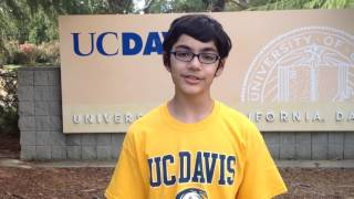 12-yr-old-Tanishq Abraham's Univ Decision 2017 Video