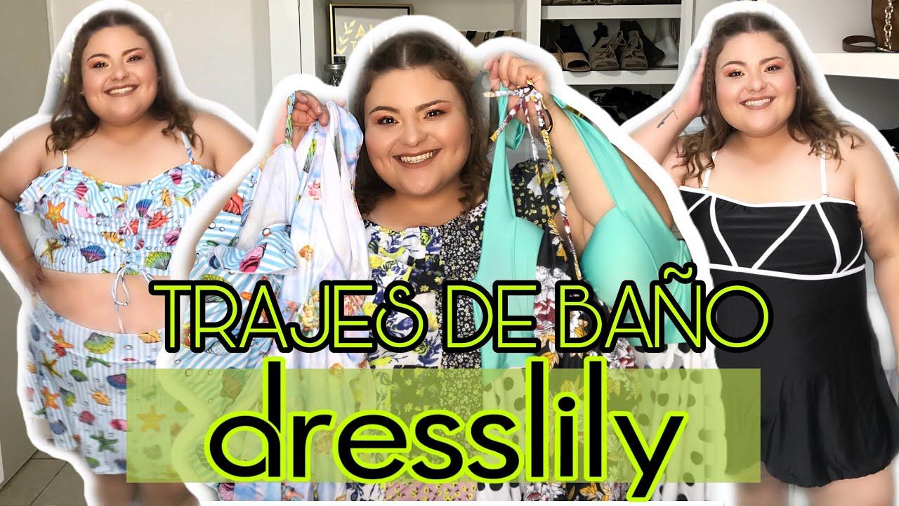 TRAJES DE BAÑO TALLAS GRANDES/ DRESSLILY TRY ON HAUL