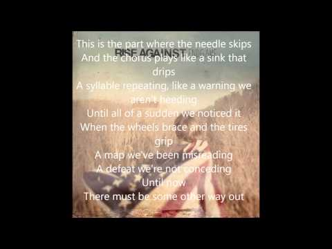 Rise Against - EndGame - This Is Letting Go Lyrics