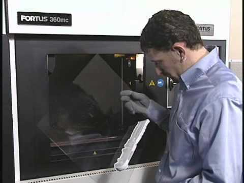 Fortus 360mc 3D prototyping machine