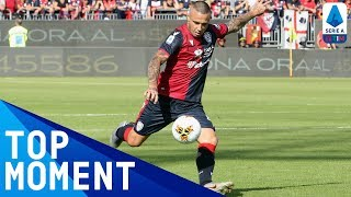 Goal of the Season? Nainggolan's INCREDIBLE strike! | Cagliari 2-0 SPAL | Top Moment | Serie A