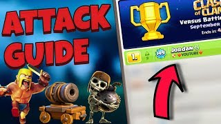 How To Use BARBS & CARTS The BEST BH8 Strategy!! GLOBAL #1  COC Step By Step GUIDE   CLASH OF CLANS