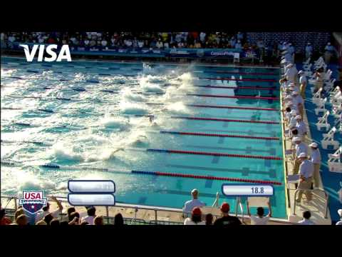 Men's 50m Freestyle A Final   2011 ConocoPhillips National Championships