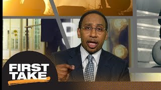 Stephen A. Smith reacts to Aaron Rodgers comments on President Trump | First Take | ESPN