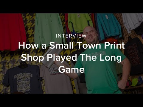 How a Small Town Print Shop Played The Long Game