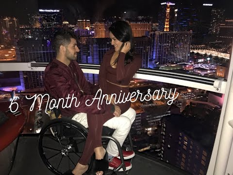 Our 6 month anniversary   Helicopter ride over Las Vegas strip   HighRoller observation wheel