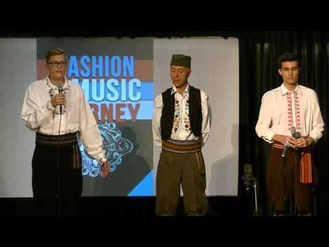 Serbian trio sings 'Pukni Zoro'