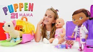 Puppen Mama - Ayça und Rose gehen  zu DocMcStuffins