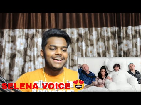 Selena Gomez J Balvin Benny Blanco Tainy - I Can&39;t Get Enough REACTION