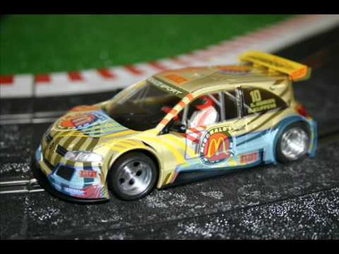 Slot Car Ninco Megane Trophy
