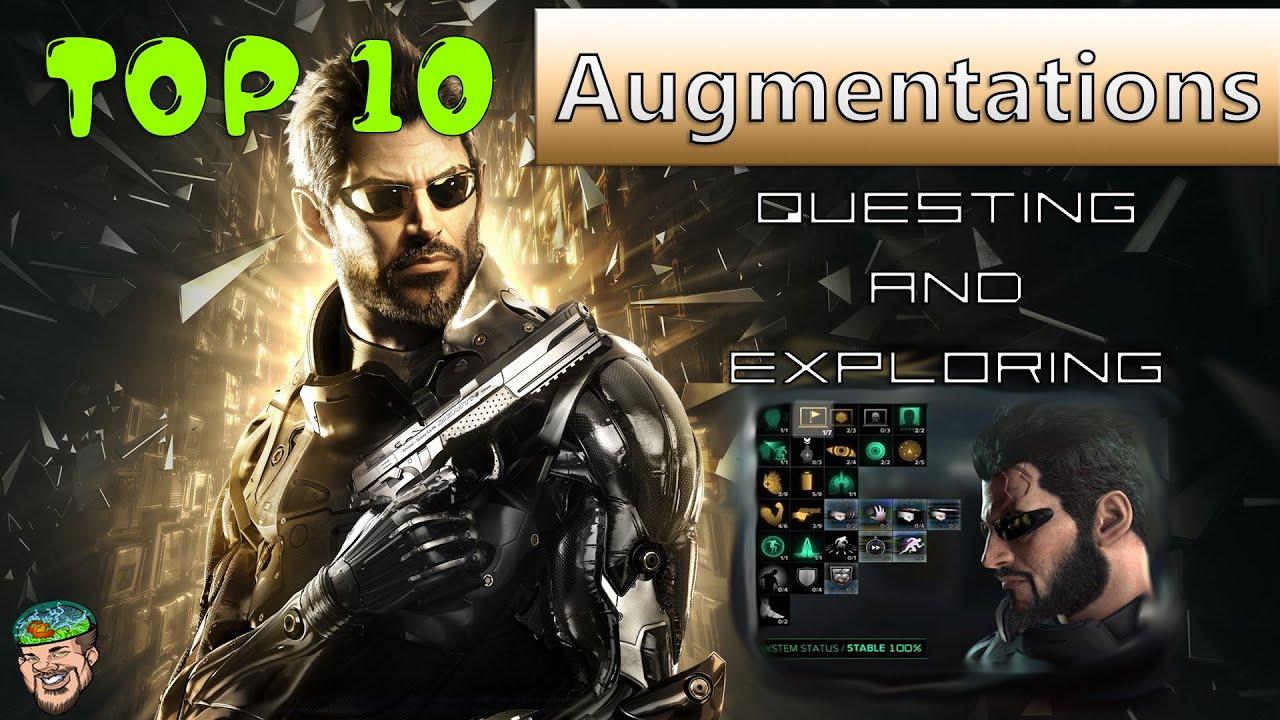 Deus Ex 1 Augmentations Guide