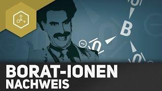 Nachweis von Borat-Ionen