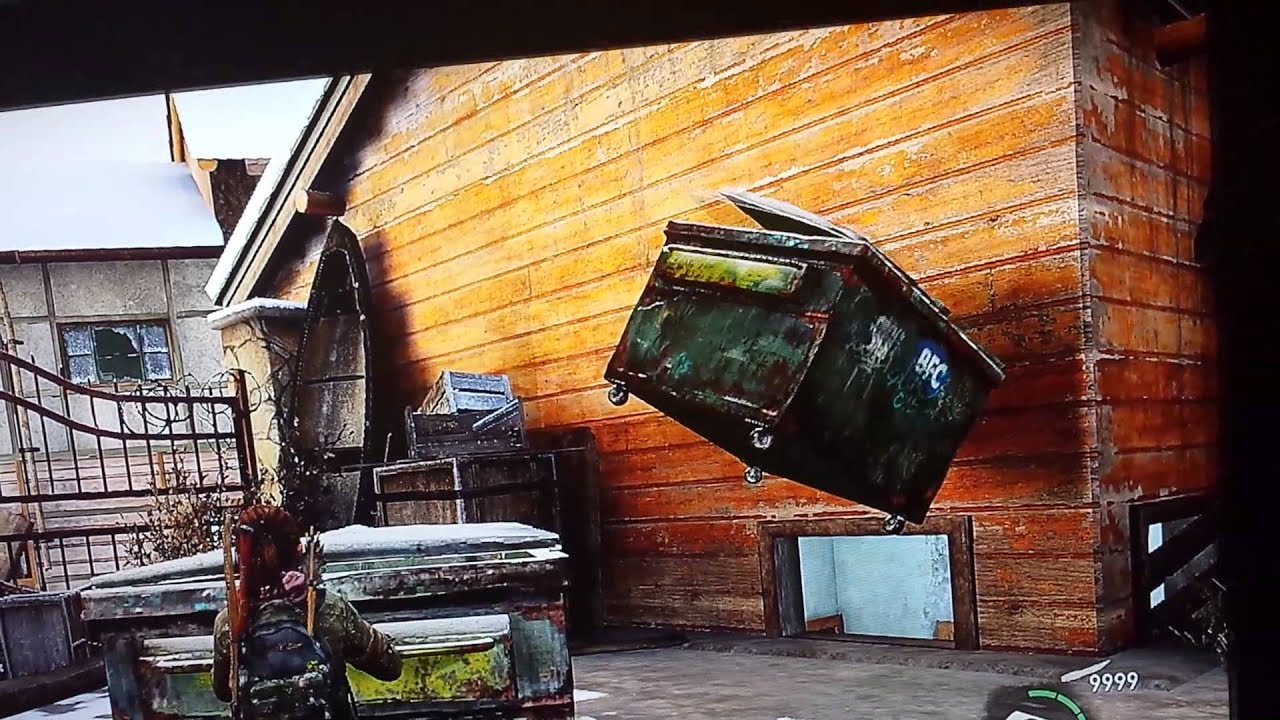 The Last Of Us Garbage Can Glitch YouTube - The last of us lake resort map