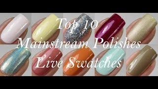 Top 10 Mainstream Nail Polishes